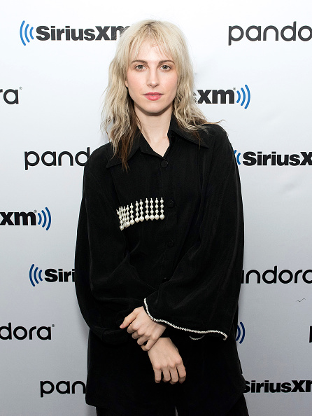 NEW YORK, NEW YORK - FEBRUARY 07: (EXCLUSIVE COVERAGE) Hayley Williams visits SiriusXM Studios on February 07, 2020 in New York City. (Photo by Bonnie Biess/Getty Images)